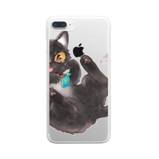 小町シリーズ Clear smartphone cases