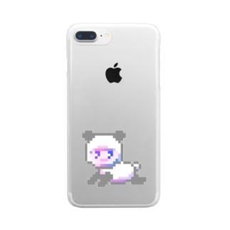 p a n d a ¿ Clear smartphone cases