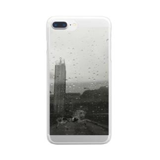 雨 Clear smartphone cases