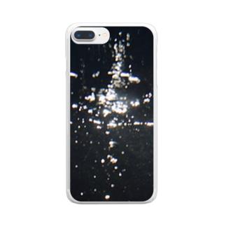 儚さを身に纏う Clear smartphone cases