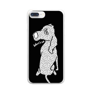 *ワイマラナー Clear smartphone cases