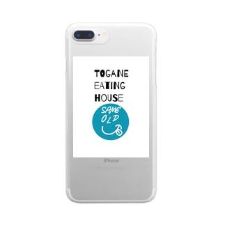 セイムオールド ロゴ Clear smartphone cases