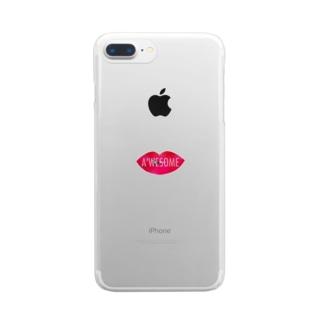 きすみーがーる Clear smartphone cases