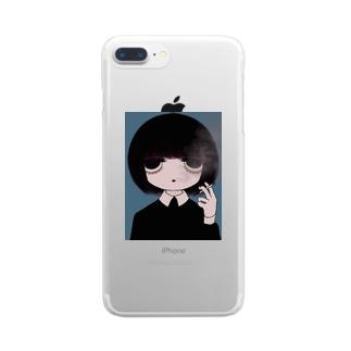 存在意義 Clear smartphone cases