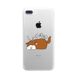 しょくぱんけん Clear smartphone cases