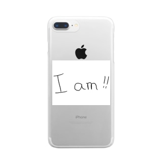 I am!!  Clear smartphone cases