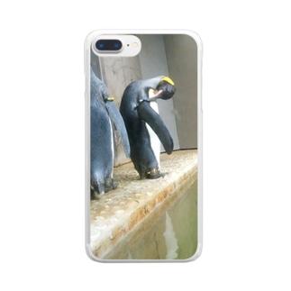 ちょっとかいてくんない? Clear smartphone cases