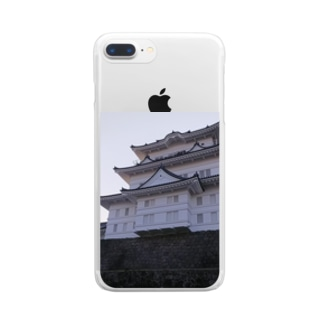 城(小田原) Clear smartphone cases