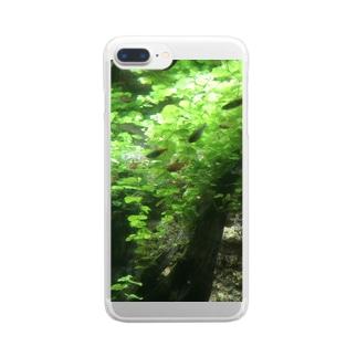 熱帯魚 Clear smartphone cases