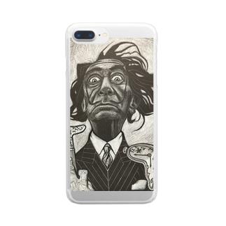 ダリ Clear smartphone cases