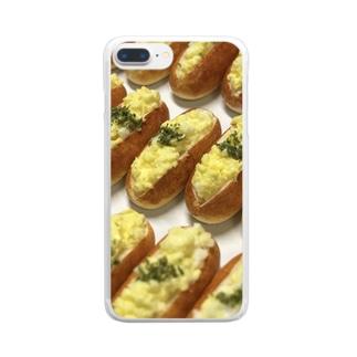 たまごロール Clear smartphone cases