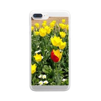 チューリップ🌷 Clear smartphone cases