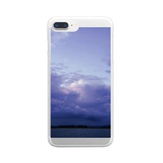 空ときみとの間には Clear smartphone cases