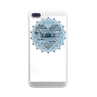 ILoveYou Clear smartphone cases