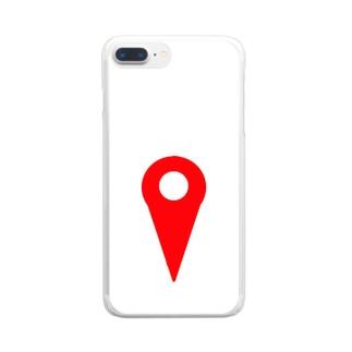 現在地 Clear smartphone cases
