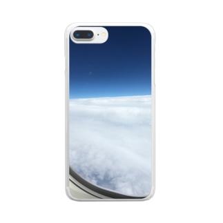 雲の上 Clear smartphone cases