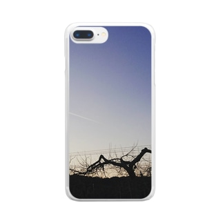 sky lover『in青森』 Clear smartphone cases