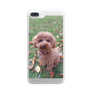 新しい秋みーっけ!! Clear smartphone cases