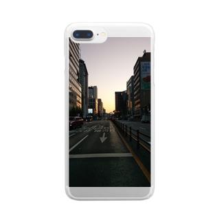 カンコクノマチナミ -韓国の町並み- Clear smartphone cases