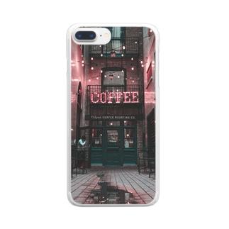 coffee in NEWYORK Clear smartphone cases