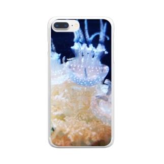 えのすいのくらげ Clear smartphone cases