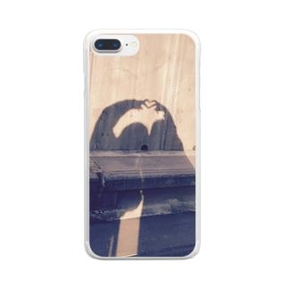 青春~女の子達の友情~ Clear smartphone cases