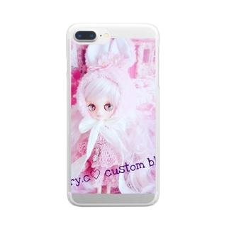 cherryco.custom blythe Clear smartphone cases