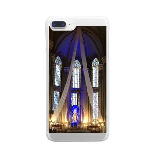 マリアさま… Clear smartphone cases