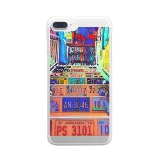 古着屋 Clear smartphone cases