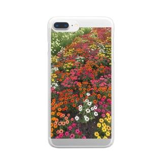 カラフル Clear smartphone cases