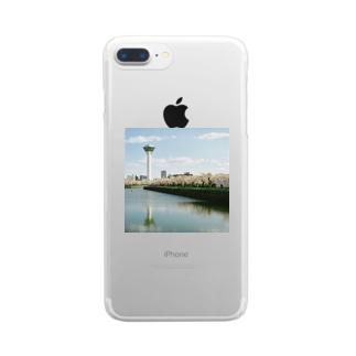 五稜郭の春 Clear smartphone cases