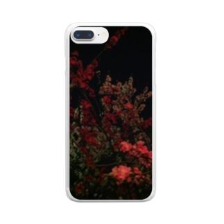 ヨザクラ Clear smartphone cases