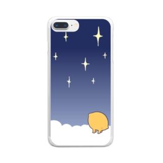 おそらのリマンマ Clear smartphone cases