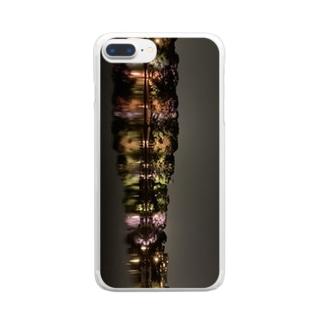 大濠公園スマホケース Clear smartphone cases