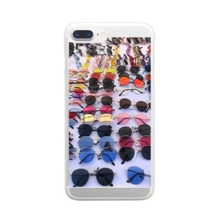 サングラス🕶 どれが好き? Clear smartphone cases