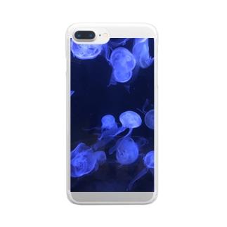 癒し KURAGE Clear smartphone cases