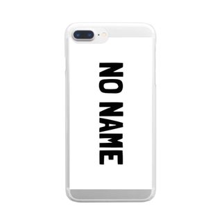 NO NAME Clear smartphone cases