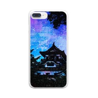 犬山城 Clear smartphone cases