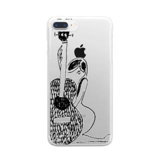 くびれ Clear smartphone cases