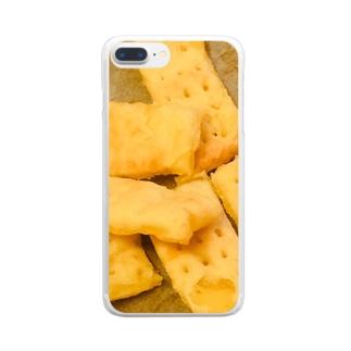 ジャガイモのショートブレッド Clear smartphone cases
