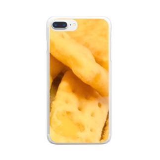 ジャガイモのショートブレッドド Clear smartphone cases