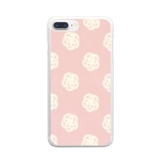 UMEMUSUBI Clear smartphone cases