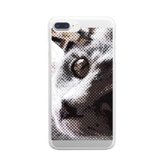 アンディニャンディ Clear smartphone cases