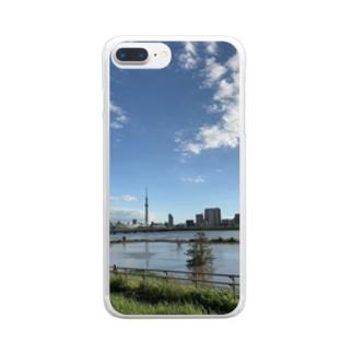 荒川水マシマシ Clear smartphone cases