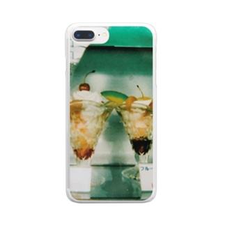 やっぱりこういうの好きだよね Clear smartphone cases