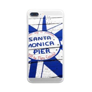 SantaMonica Pier Clear smartphone cases
