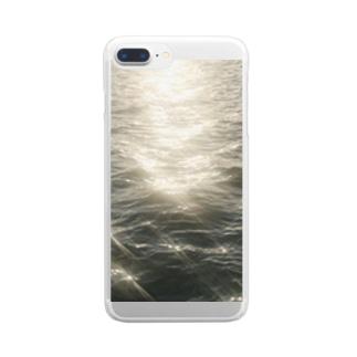 君と海 Clear smartphone cases