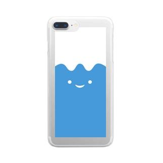 ふじはなスマホケース Clear smartphone cases