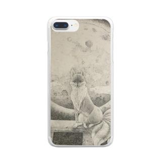 九尾狐 Clear smartphone cases