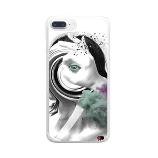 ノゾキアナ2020コレクション Clear smartphone cases